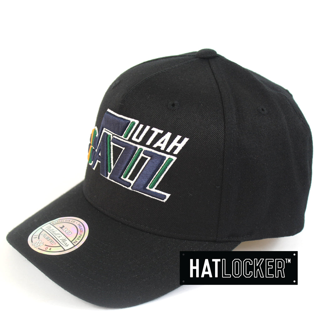 online retailer f21d6 753f6 ... get mitchell ness utah jazz 110 pinch panel curved snapback hat 226b0  a46e2