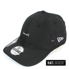 New Era Unisex Fremantle Dockers Team Script Black Prolight Strapback Cap