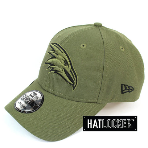 New Era Adelaide Crows 2020 Shadow Tech Olive Curved Snapback Hat