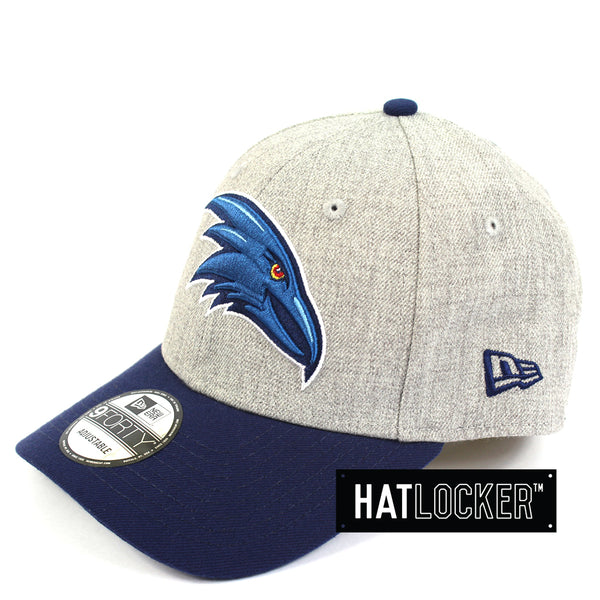 New Era Adelaide Crows Heather Curved Snapback Hat