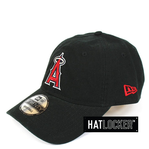 New Era Anaheim Angels Washed Canvas Strapback Hat