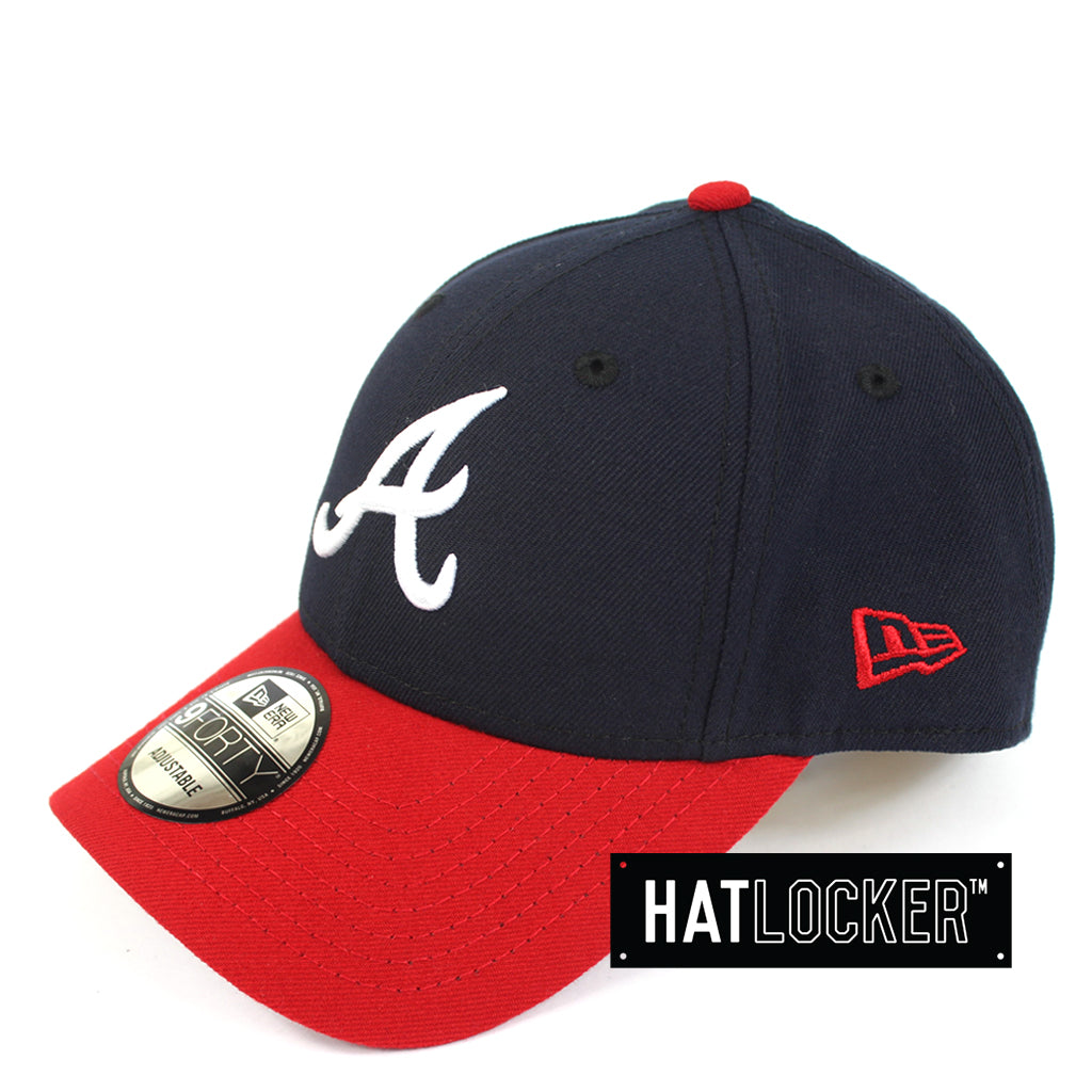 New Era Atlanta Braves Curved Baseball Snapback Cap