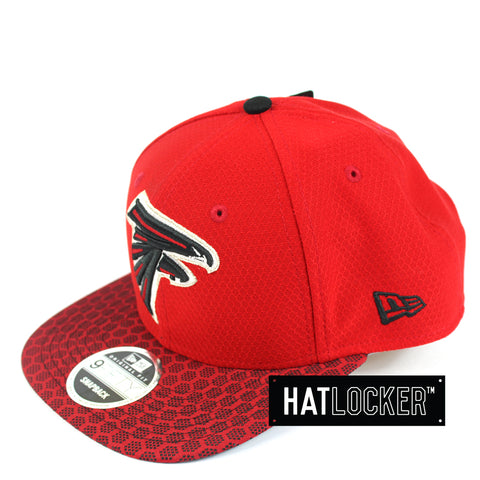 New Era - Atlanta Falcons 2017 Official Sideline Snapback