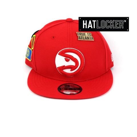 New Era Atlanta Hawks 2018 NBA Draft Snapback Hat