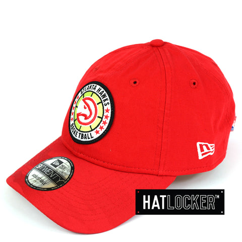 new arrival f402e e1740 New Era - Atlanta Hawks 2018 NBA Tip Off Team Colour Curved Brim