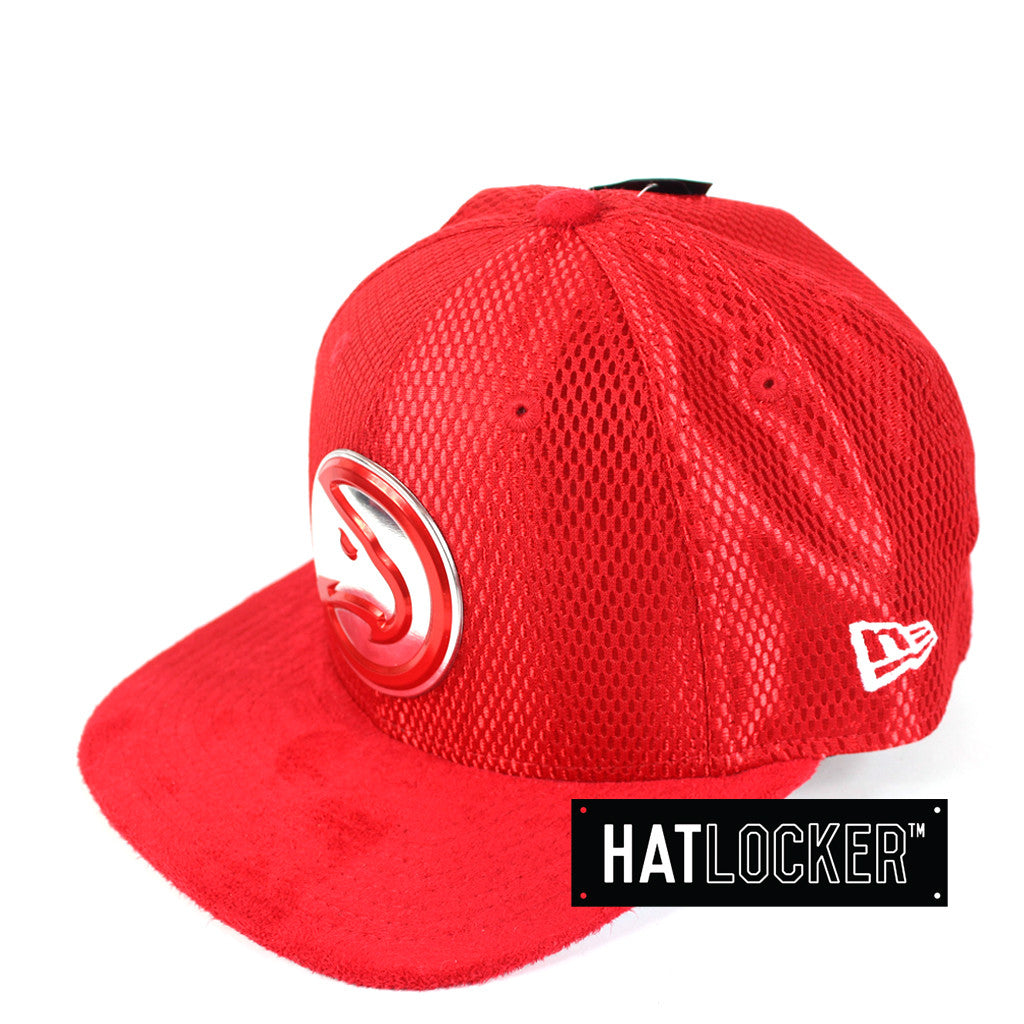 New Era - Atlanta Hawks On-Court Draft Collection Snapback