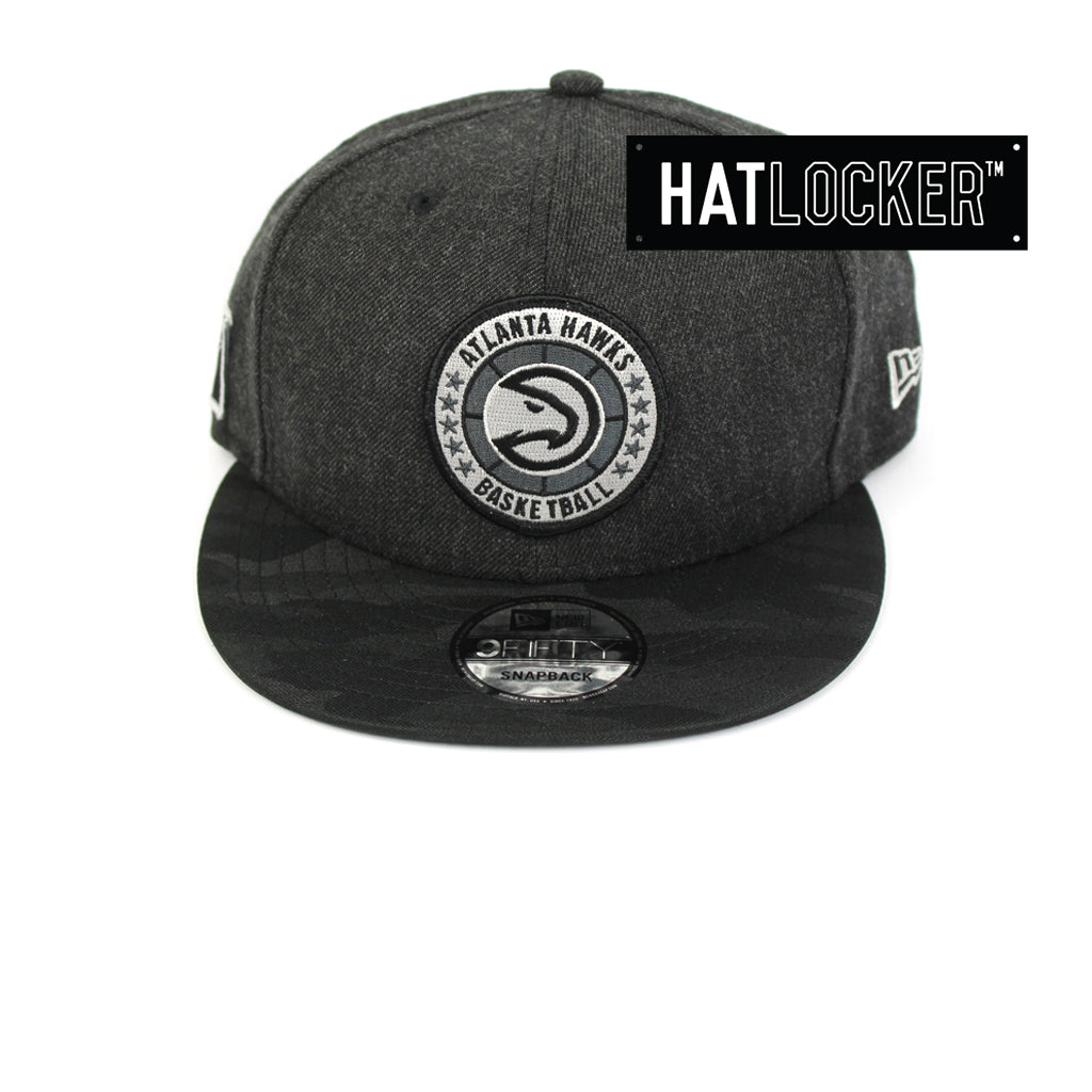 New Era Atlanta Hawks Tip Off Series Black Snapback Hat