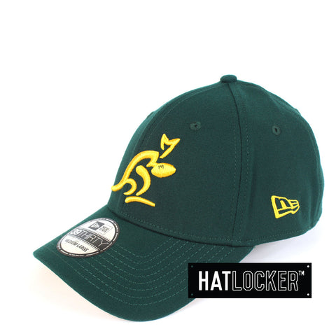 New Era - Australian Wallabies Dark Green Curved Brim