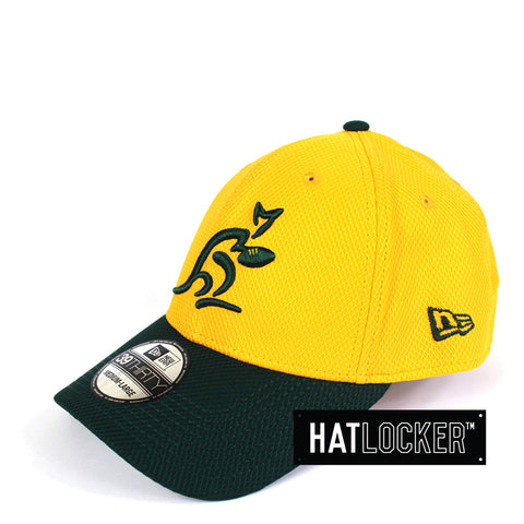 New Era - Australian Wallabies Gold Green Curved Brim
