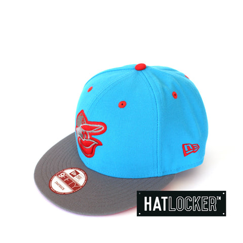 New Era Baltimore Orioles Lavaflip Blue Fanatic Snapback