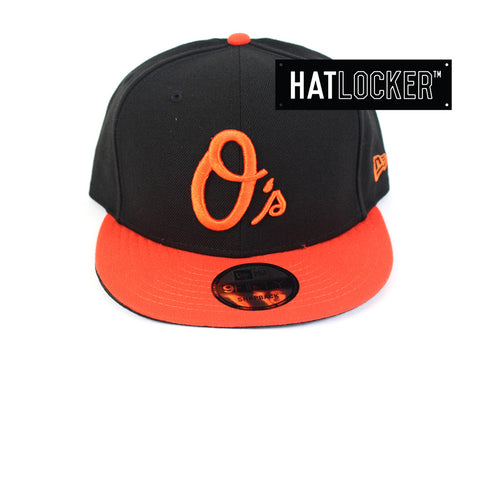 New Era - Baltimore Orioles Wordmark Black Snapback