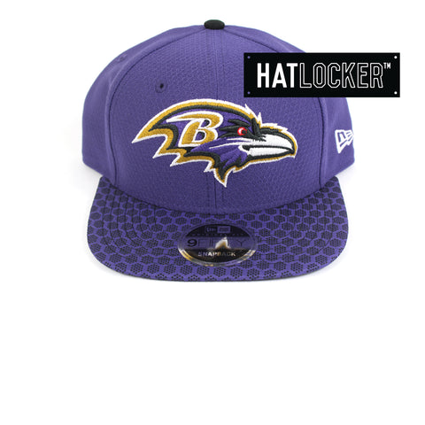 New Era - Baltimore Ravens 2017 Official Sideline Snapback