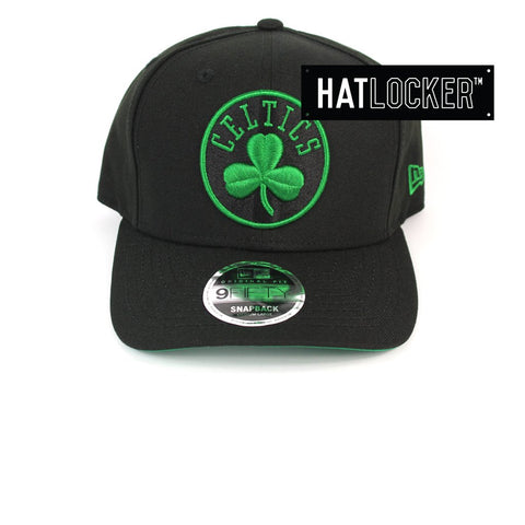 New Era Boston Celtics Team Pop Precurved Snapback