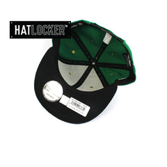 New Era Boston Celtics On-Court Emblem Collection Snapback Hat
