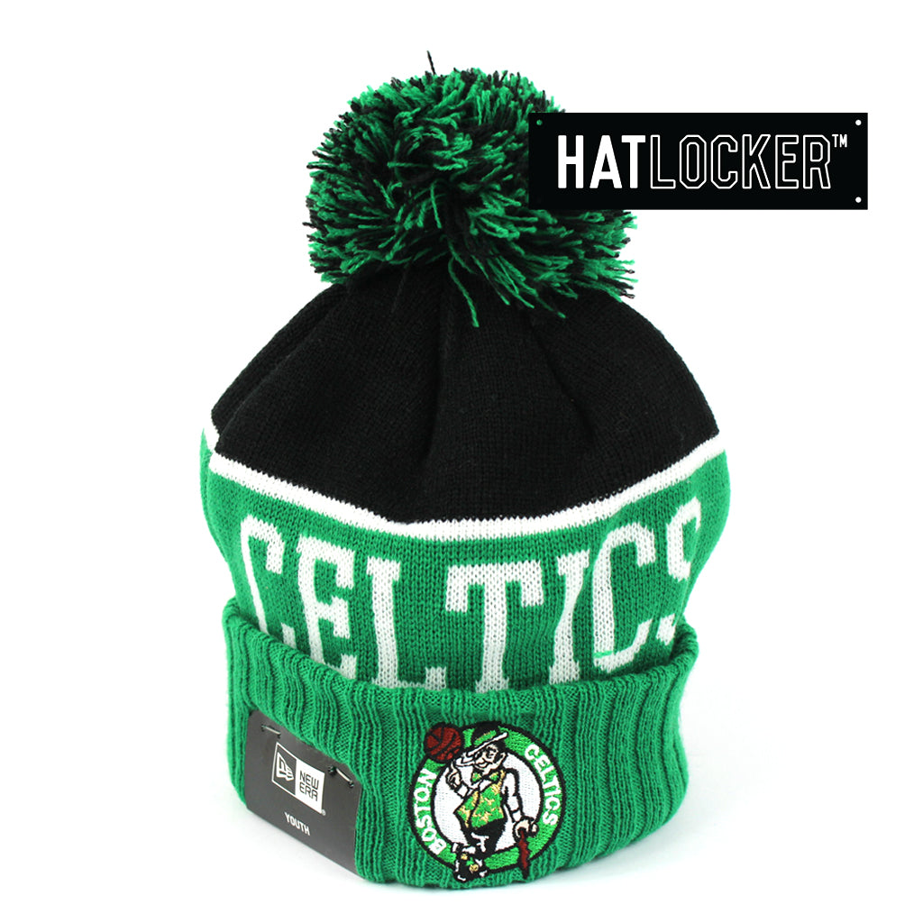 Details about New Era - Boston Celtics Team Dip Youth Beanie f594f5c8ae4