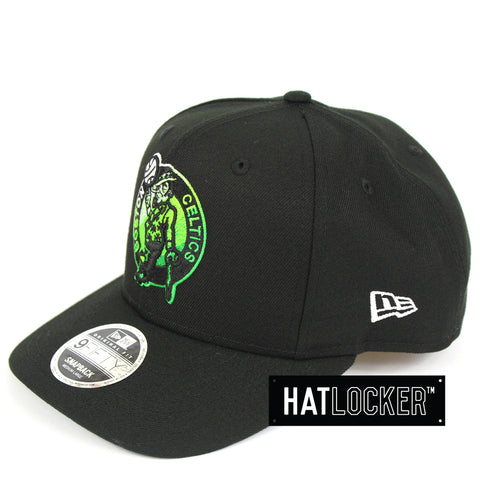 New Era Boston Celtics Colour Dim Precurved Snapback Hat