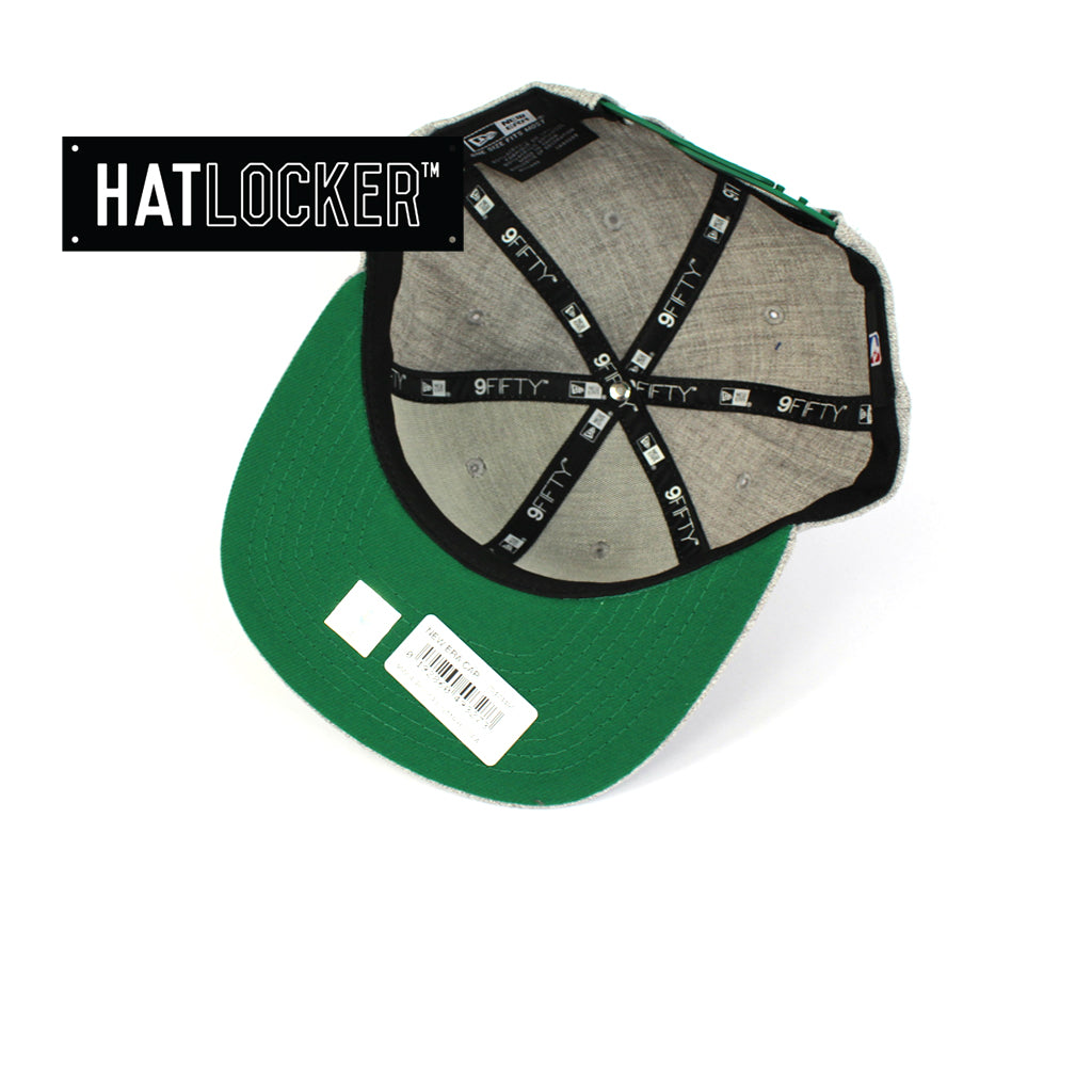 New Era Boston Celtics Running Circles Heather Grey Snapback