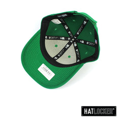 New Era Boston Celtics Tonal Pop Green Youth Curved Brim Hat