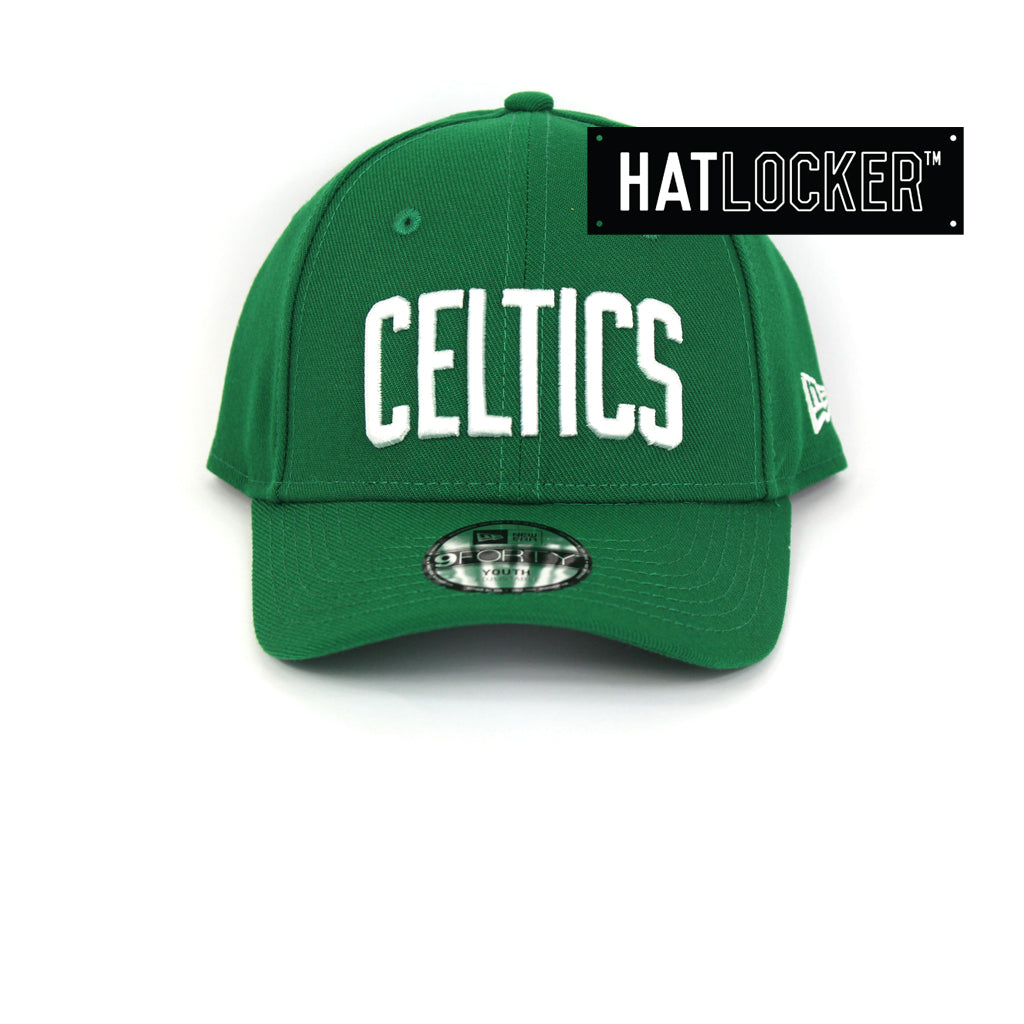 lower price with 34275 9297a New Era Boston Celtics Type Hype Youth Curved Brim Cap
