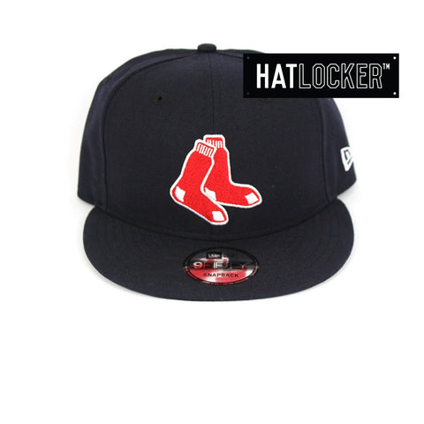 New Era Boston Red Sox Team Secondary Snapback Cap