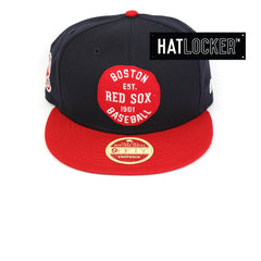 New Era Boston Red Sox Double Patched Snapback Australia