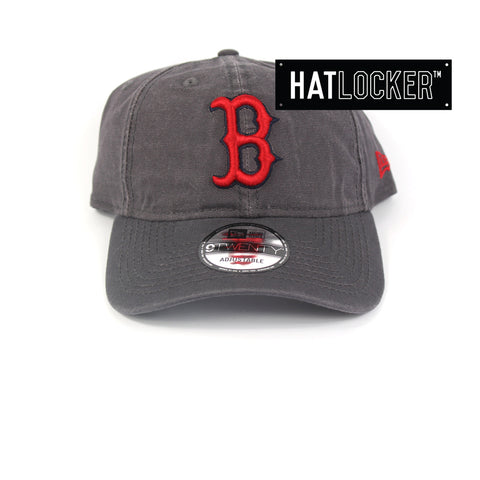 New Era Boston Red Sox Greyed Shore Curved Brim Hat