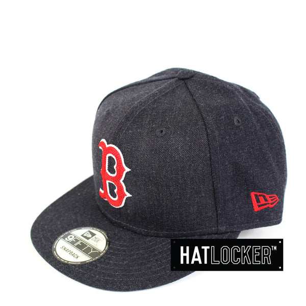New Era - Boston Red Sox Heather Crisp Snapback