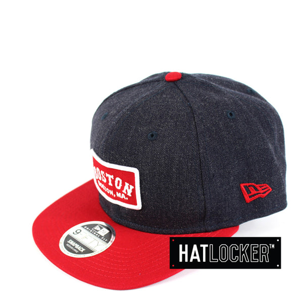 New Era - Boston Red Sox Retro Patch Snapback