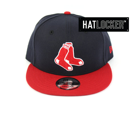 New Era Boston Red Sox Alt Logo Snapback Hat