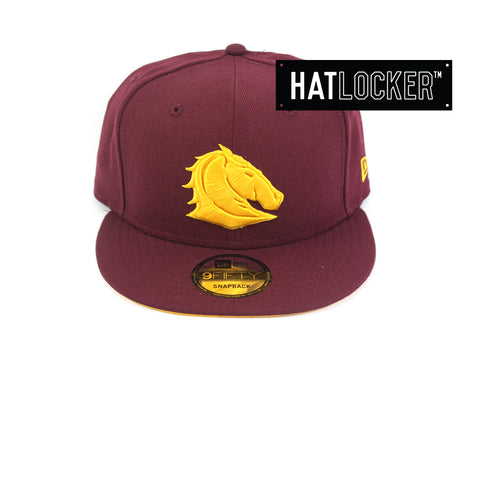 New Era Brisbane Broncos Tonal Pop Snapback Hat