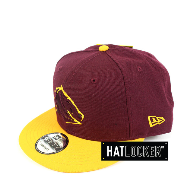New Era - Brisbane Broncos Two Tone Snapback