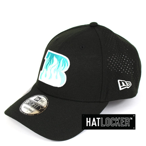 New Era Brisbane Heat BBL 08 Black Curved Brim Hat