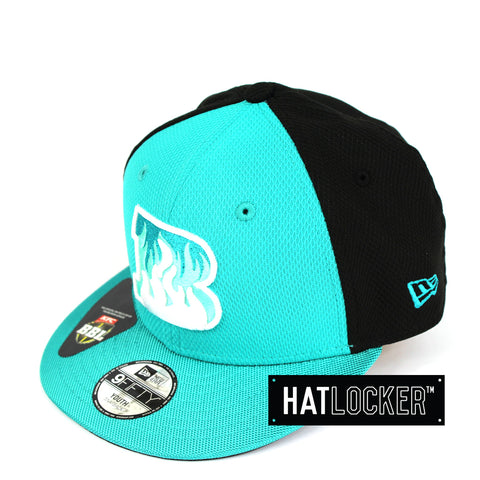 New Era Brisbane Heat BBL 08 Kids Snapback Hat
