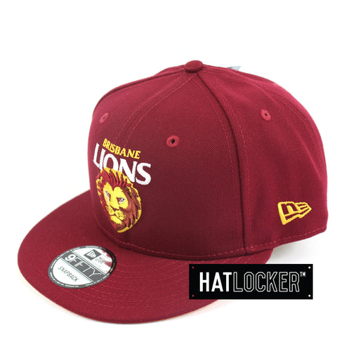 New Era Brisbane Lions Core Snapback Cap