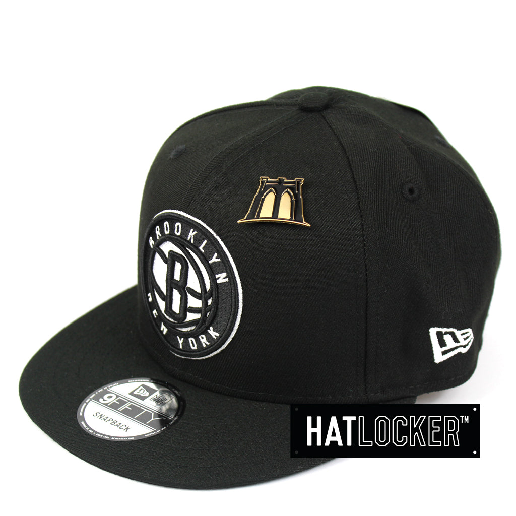 New Era Brooklyn Nets 2018 NBA Draft Snapback Cap 1a4dc3f77af