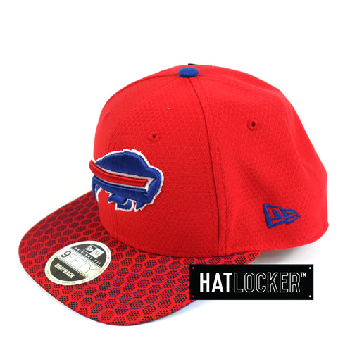 New Era - Buffalo Bills 2017 Official Sideline Snapback
