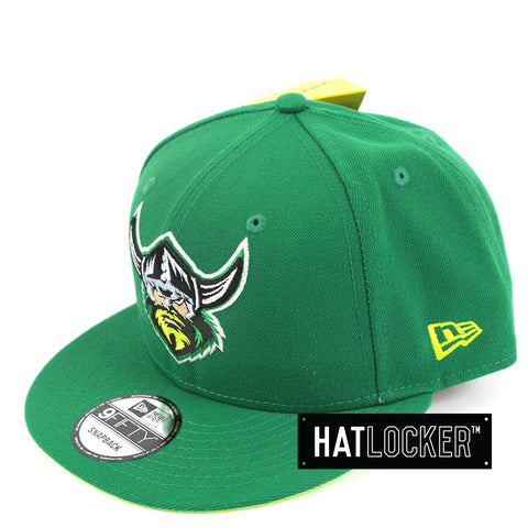 Hat Locker Australia New Era NRL Canberra Raiders Core Snapback Hat Side