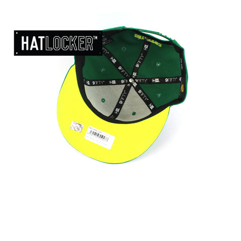 Hat Locker Australia New Era NRL Canberra Raiders Core Snapback Hat Under