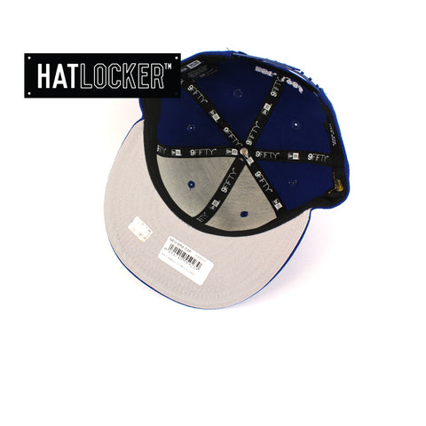Hat Locker Australia New Era NRL Cantebury Bulldogs Core Snapback Hat Under