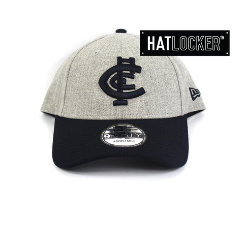 New Era Carlton Blues Heather Curved Snapback Hat