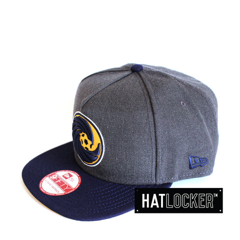 New Era - Central Coast Mariners Heather Graphite Snapback