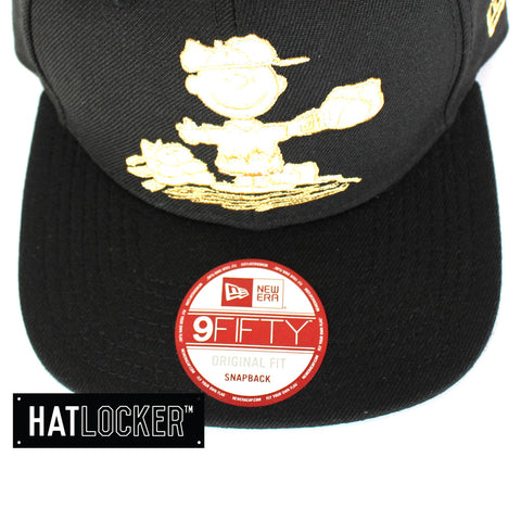 New Era Charlie The Pitcher Black Snapback