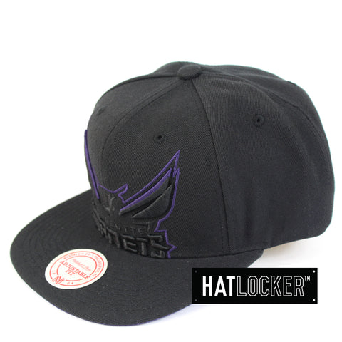 Mitchell & Ness Charlotte Hornets Cropped TC Pop Snapback