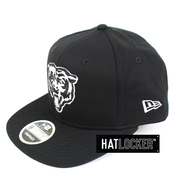 New Era Chicago Bears Chi-Town B&W Snapback Hat
