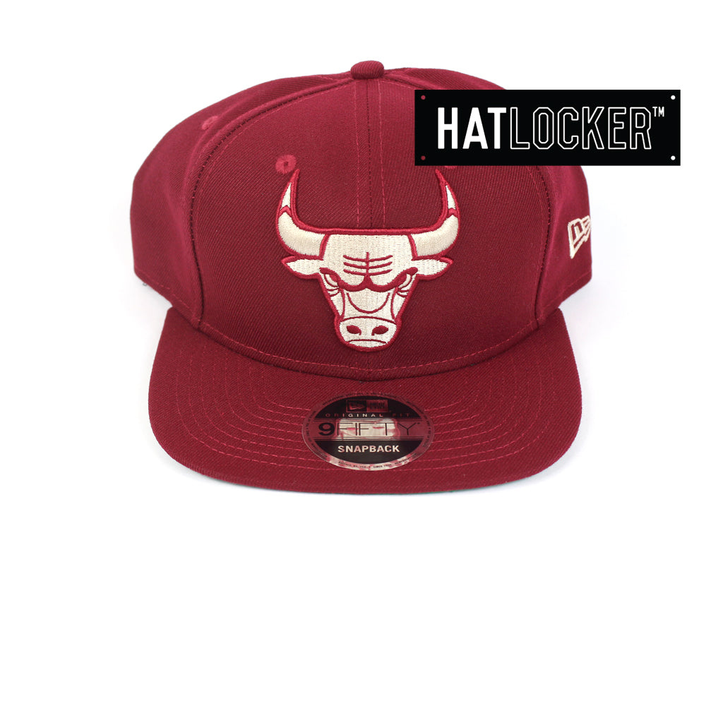 New Era Chicago Bulls Cardinal Snapback