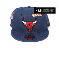 New Era Chicago Bulls Denim Snapback Hat