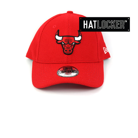 New Era Youth Chicago Bulls Diamond Era Curved Brim Cap