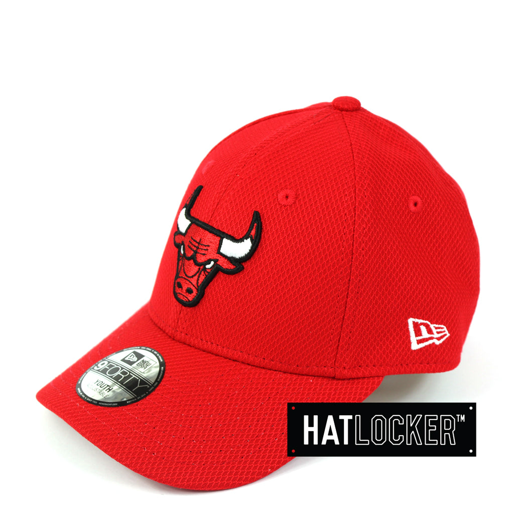 sneakers for cheap 48b74 12005 ... low cost new era youth chicago bulls diamond era curved brim cap d0f9a  d2137