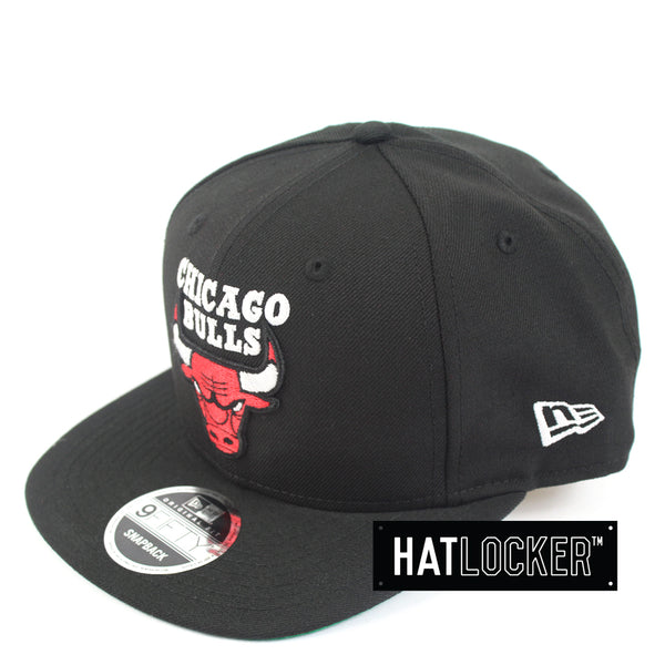 New Era Chicago Bulls Jordan Mix Black Snapback Hat