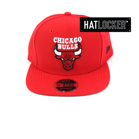 New Era Chicago Bulls Jordan Mix Red Snapback Hat